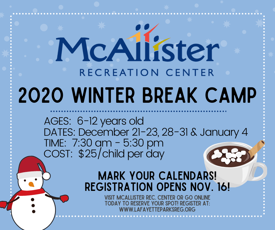 MRC 2020 Winter Break Cam