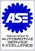 ASE - National Institute for Automotive Service Excellence Logo