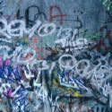 Graffiti Under Bridge