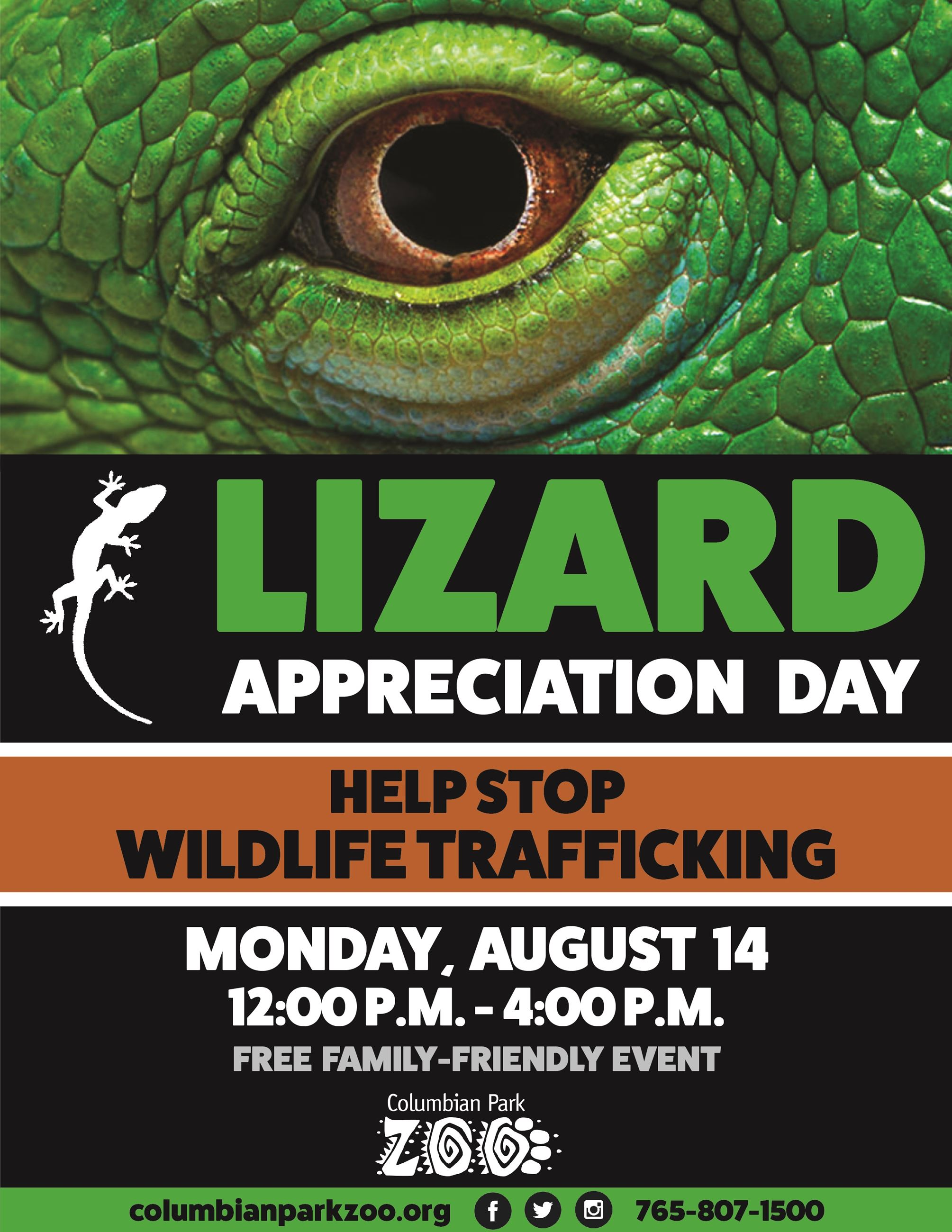Lizard Appreciation Day Poster 2017