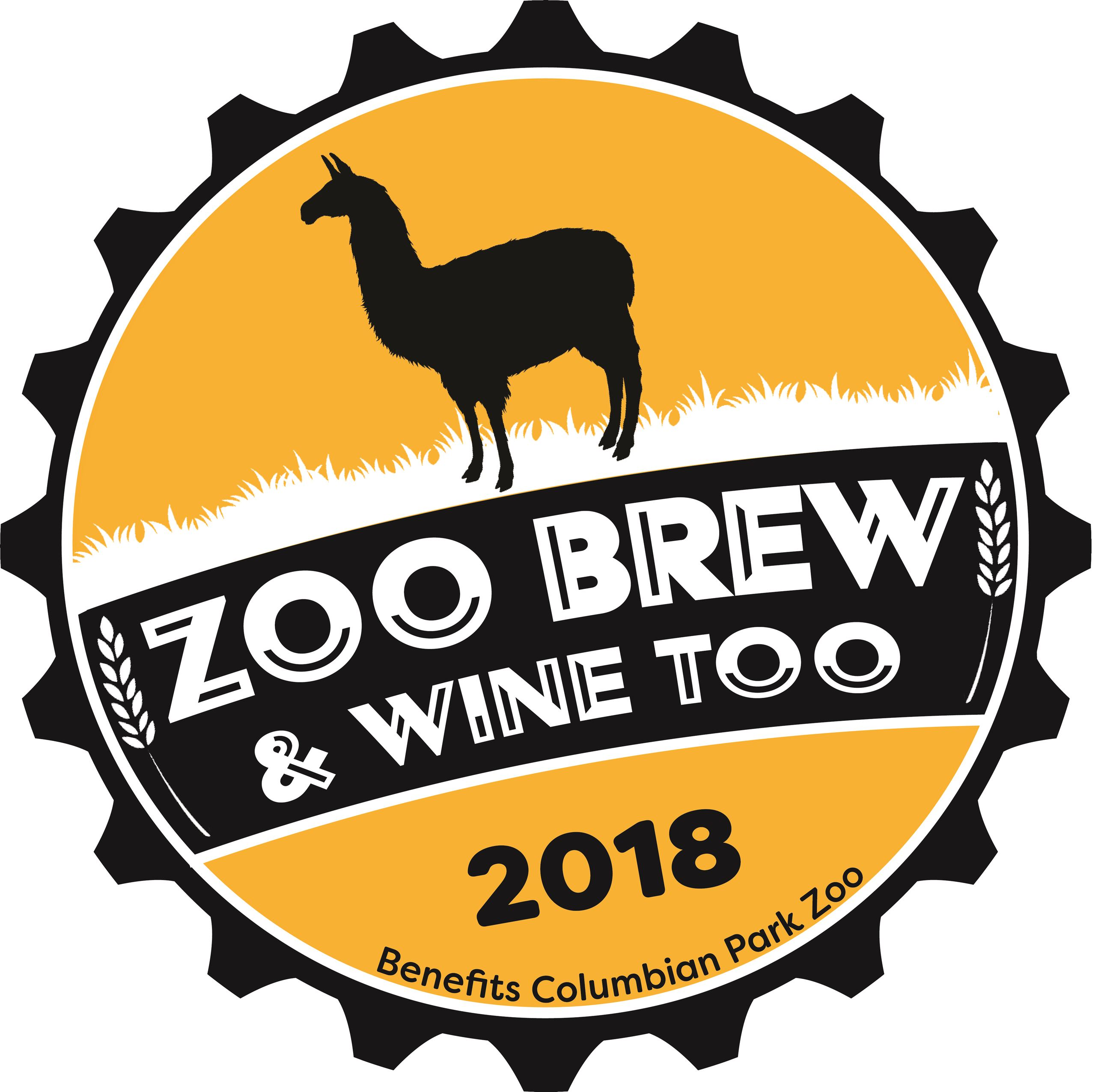 Zoo Brew and Wine Too Logo 2018