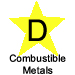 D Combustible Metals