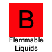 B Flammable Liquids